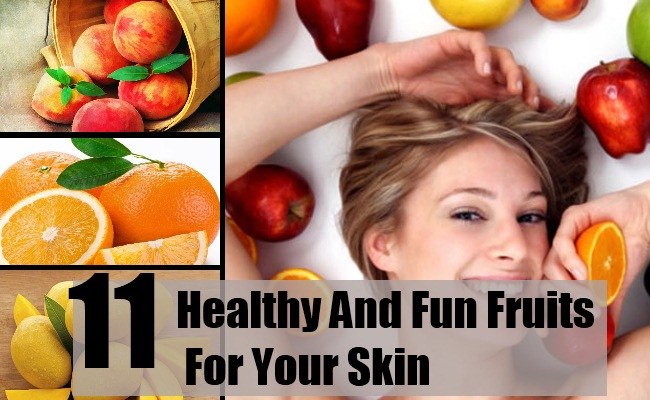 Fun Fruits For Your Skin
