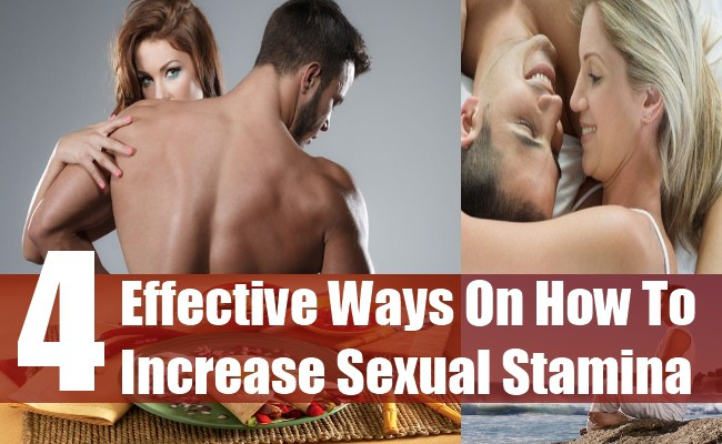 4 Effective Ways on How to Increase Sexual Stamina