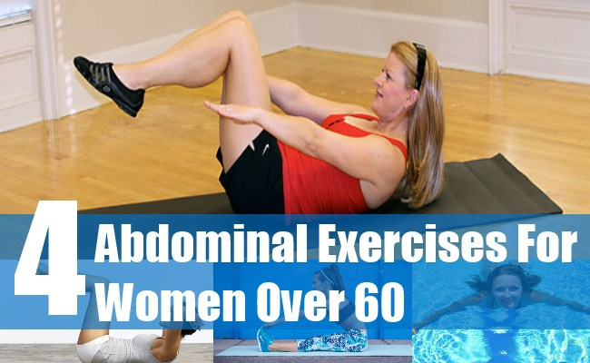 4 Abdominal Exercises for Women Over 60