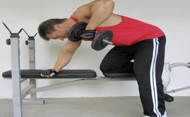 Dumbbell Swings with One Arm