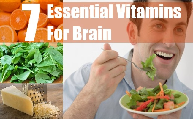 7 Essential Vitamins For Brain