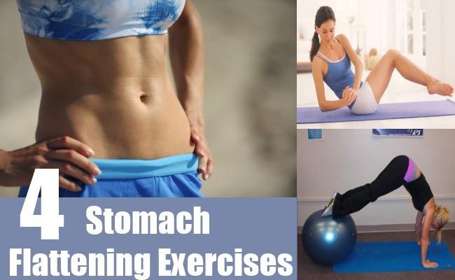 Stomach Flattening Exercises