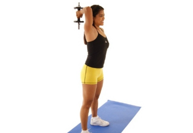 Single-Arm Dumbbell Extension