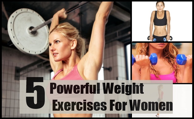 Powerful Weight Exercises