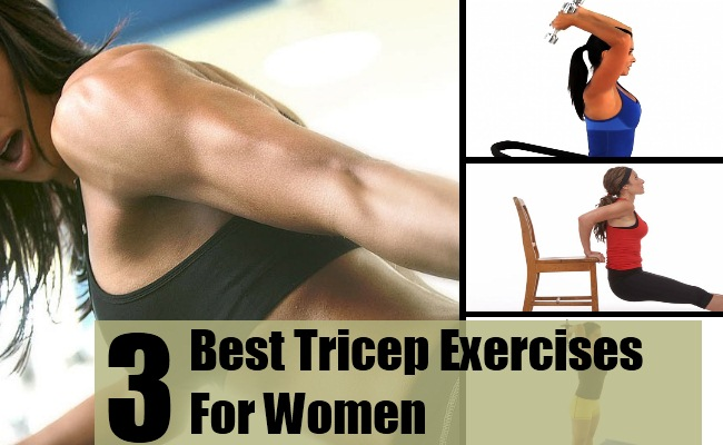 Best Tricep Exercises For Women