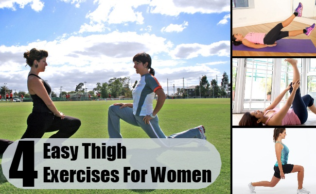 Easy Thigh Exercises For Women