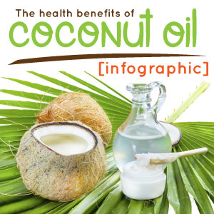 The health benefits of coconut oil [infographic]