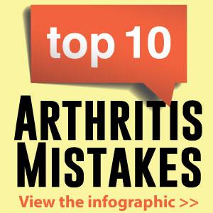 Top 10 arthritis mistakes [infographic]