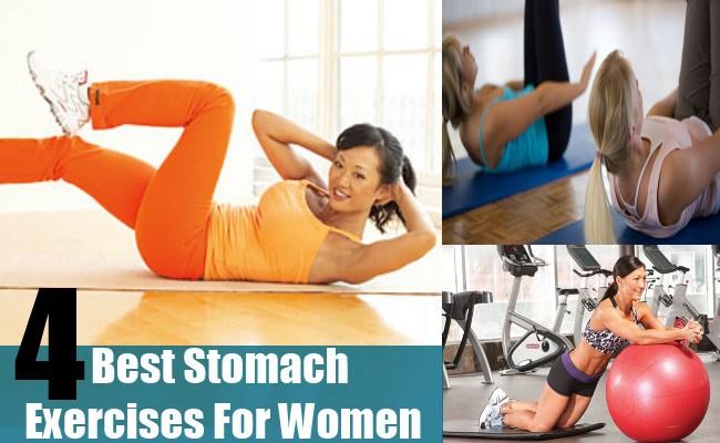 Best Stomach Exercises For Women