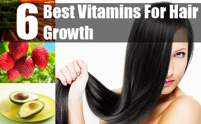 6 Best Vitamins For Hair Growth