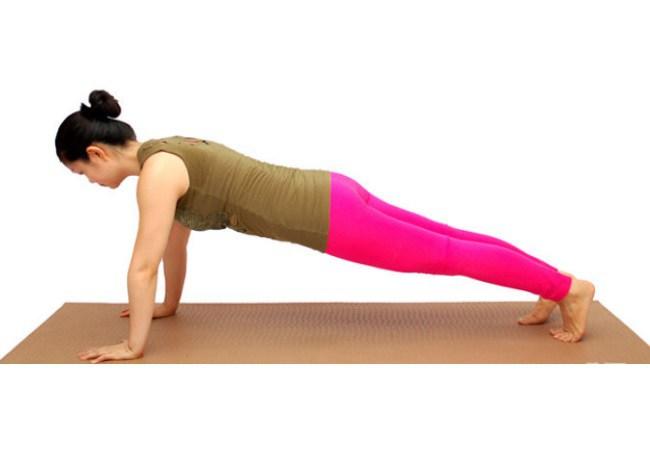 Planks Exercise For Stomach Flattening