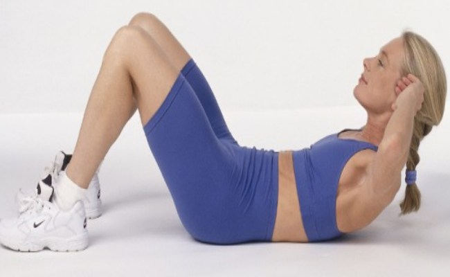 Curl Up Exercise