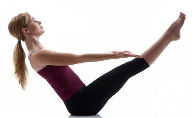Post Natal Sit Up Exercise