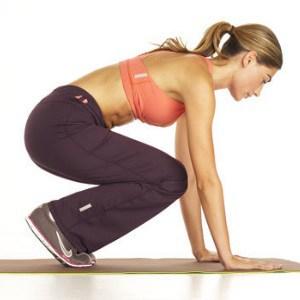 Squat-Thrust-Twist exercise