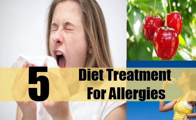Diet Treatment For Allergies