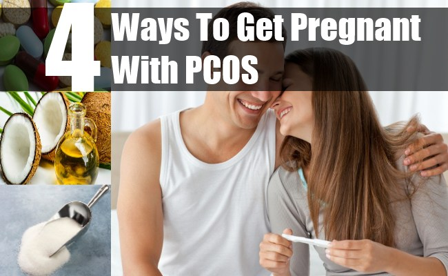 4 Ways To Get Pregnant With PCOS