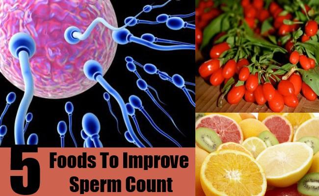 Foods To Improve Sperm Count